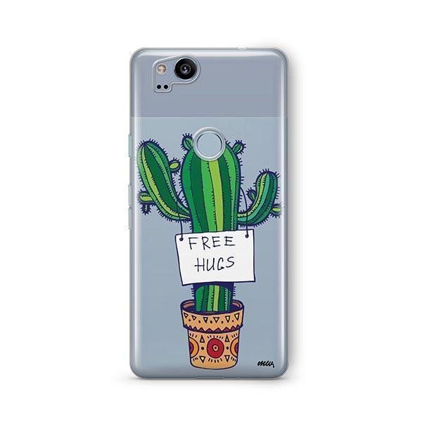 Free Hugs Google Pixel 2 Case Clear