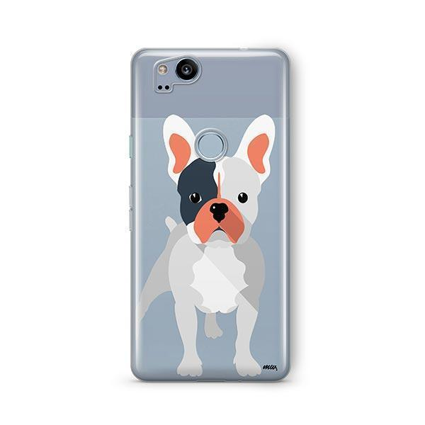 French Bulldog - Google Pixel 2 Clear Case