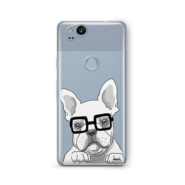 The Frenchie - Google Pixel 2 Clear Case