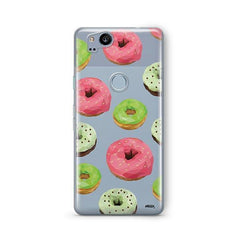 Geometric Donut Google Pixel 2 Case Clear