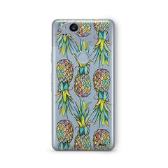 Hawaiian Pineapple Google Pixel 2 Case Clear