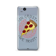 In Crust We Trust Google Pixel 2 Case Clear