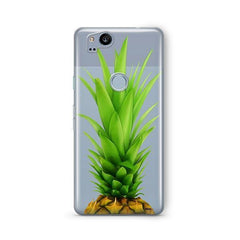 Pineapple Head Google Pixel 2 Case Clear