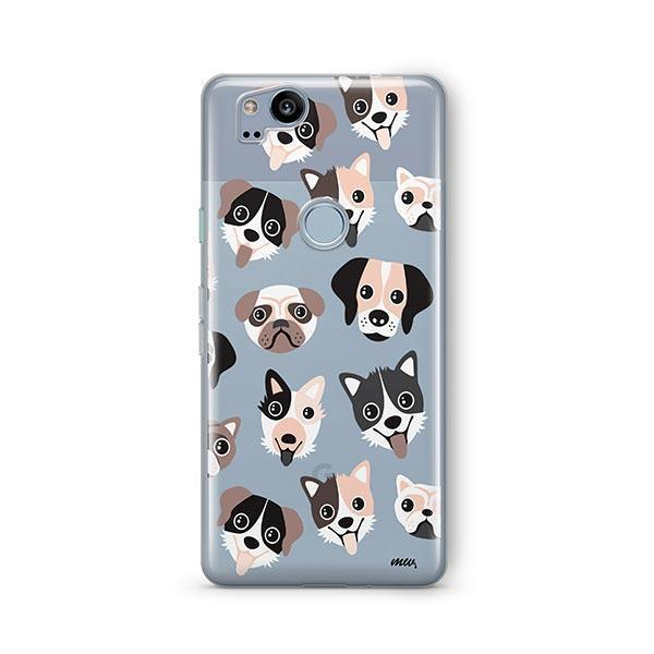 Puppy Love - Google Pixel 2 Clear Case