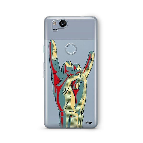 Rock On Google Pixel 2 Case Clear
