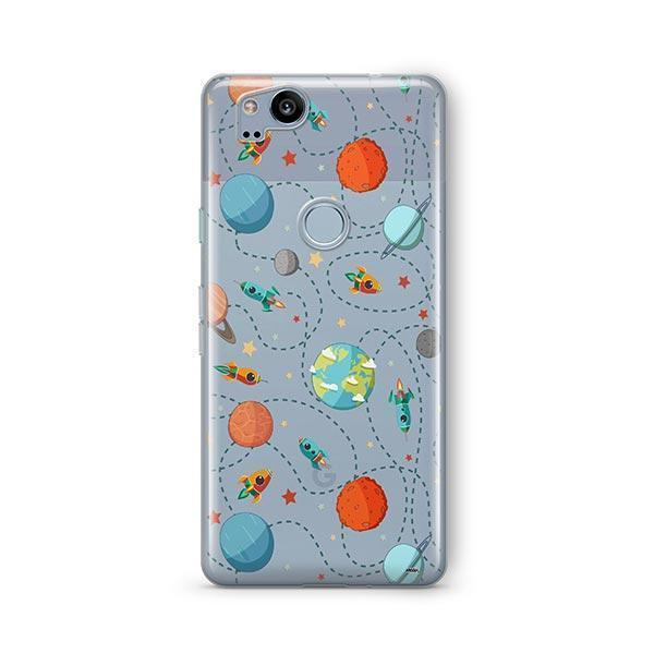 Space Case Google Pixel 2 Case Clear