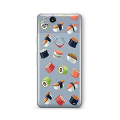 Sushi Lover Google Pixel 2 Case Clear
