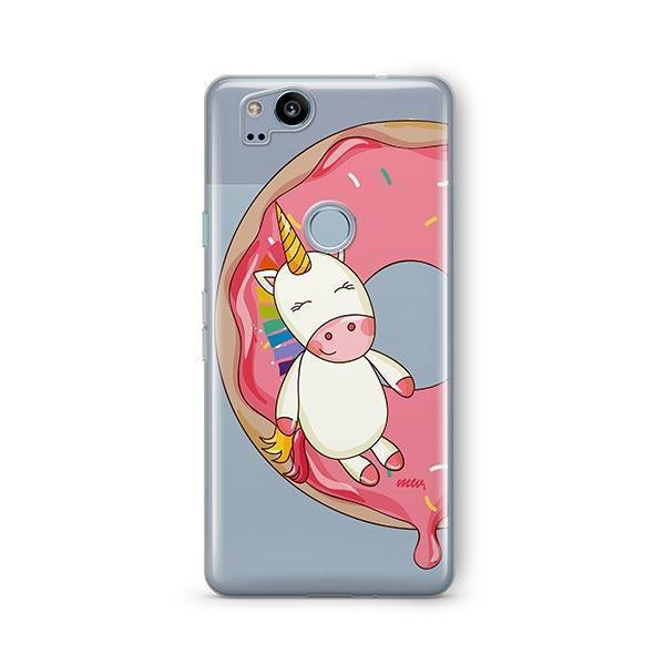 Unicorn Sprinkles Google Pixel 2 Case Clear
