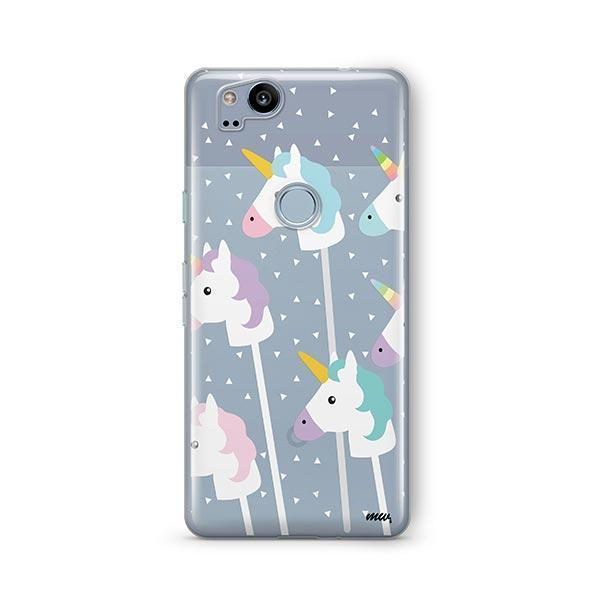 Unicorn Pops Google Pixel 2 Case Clear