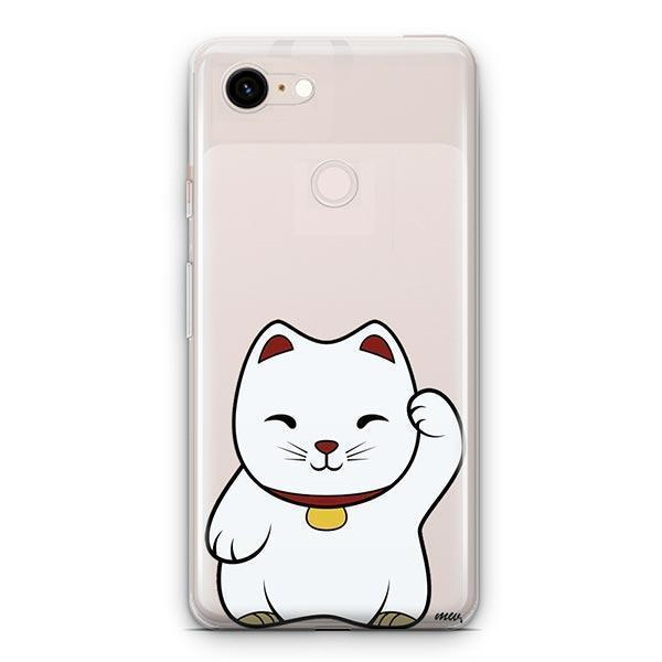 Lucky Cat - Google Pixel 3 XL Clear Case