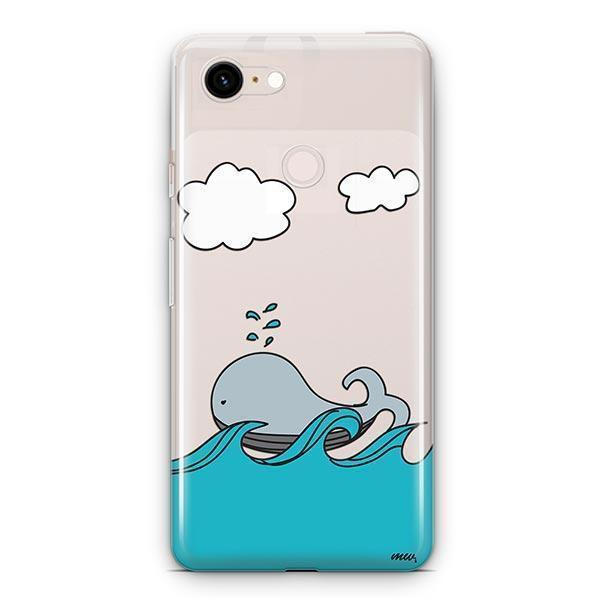 The Whale Case - Google Pixel 3 XL Clear Case