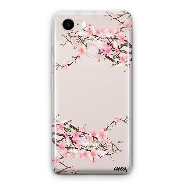 Cherry Blossom Google Pixel 3 XL Clear Case