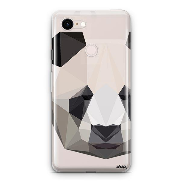Geo Panda - Google Pixel 3 XL Clear Case