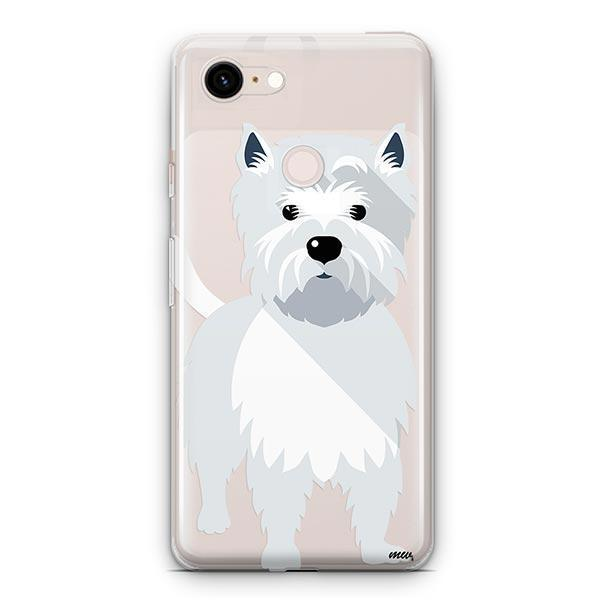 Westie - Google Pixel 3 XL Clear Case