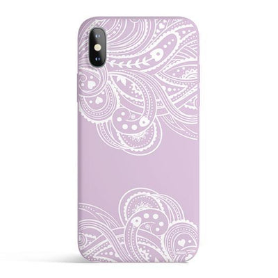 Hazel Henna - Colored Candy Cases Matte TPU iPhone Cover Milkyway iPhone Samsung Clear Cute Silicone 8 Plus 7 X Cover