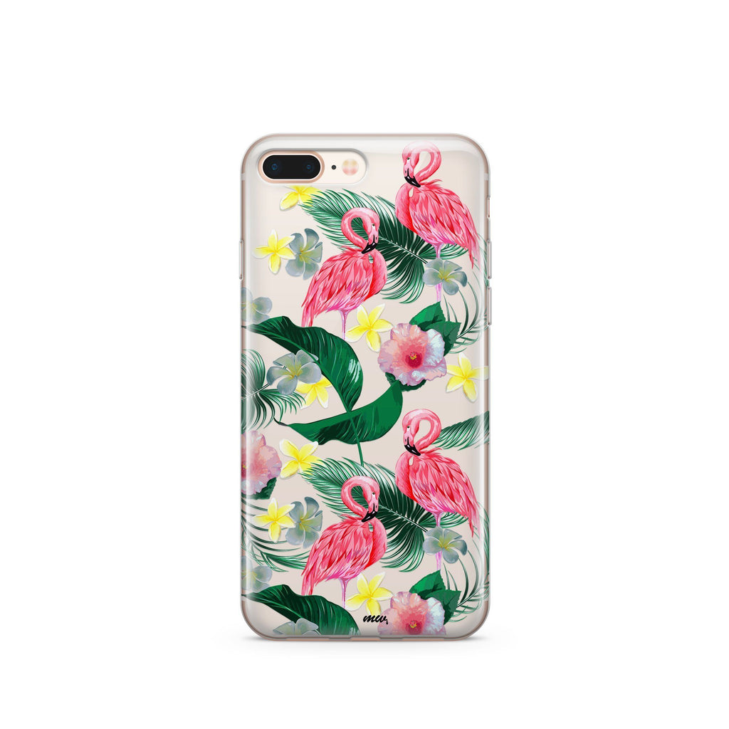 Hibiscus Paradise - Clear Case Cover