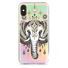 Majestic Elephant - Holographic iPhone Case