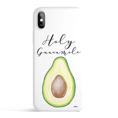 Holy Guacamole - Colored Candy Cases Matte TPU iPhone Cover