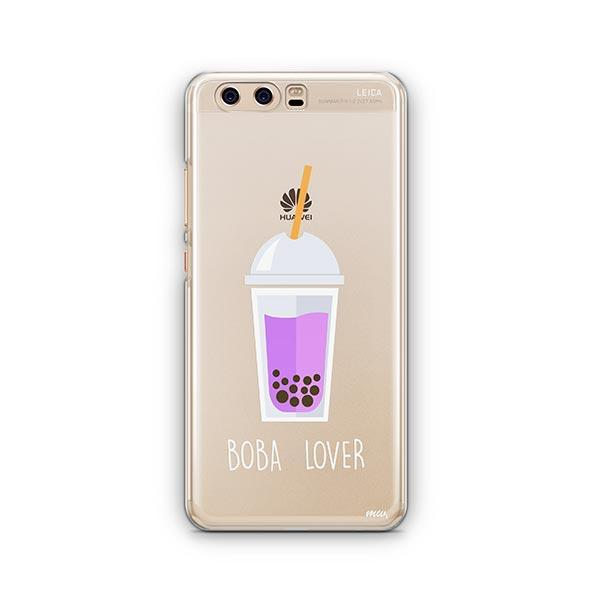 Boba Lover Huawei P10 Case Clear