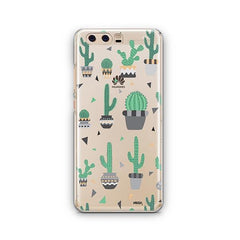 Cactus Party Huawei P10 Case Clear