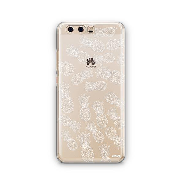 Henna White Pineapple Huawei P10 Case Clear