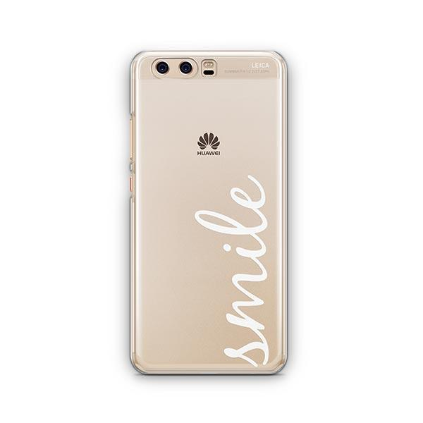 Smile Quote Huawei P10 Case Clear