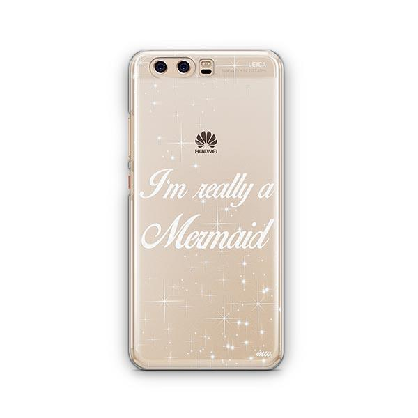 I'm Really a Mermaid Huawei P10 Case Clear