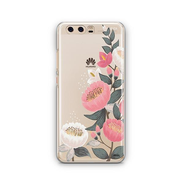 Laurel Floral Huawei P10 Case Clear