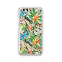 Tropical Butterfly Huawei P10 Case Clear