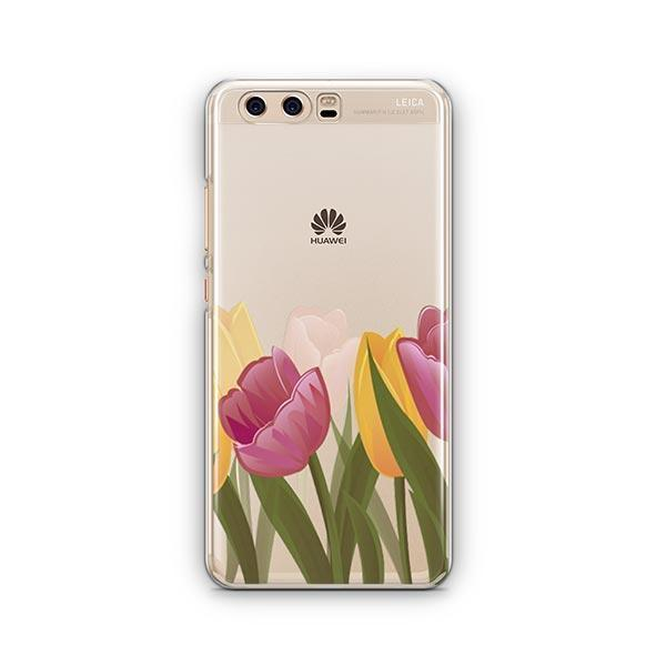 Tulips Huawei P10 Case Clear