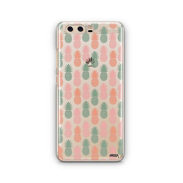 Vintage Pineapple Huawei P10 Case Clear