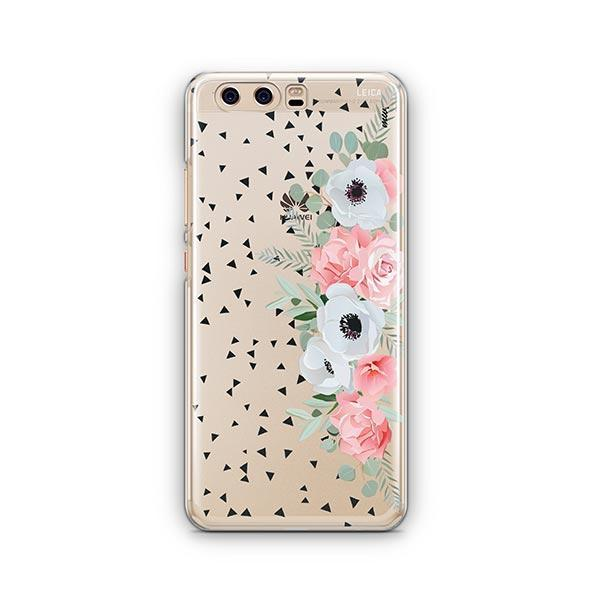 Anemone Rose Huawei P10 Case Clear
