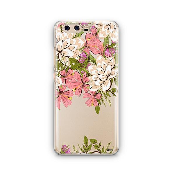 Angela Floral Huawei P10 Case Clear