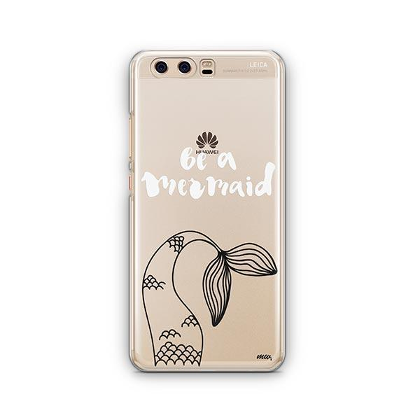 Be a Mermaid Huawei P10 Case Clear