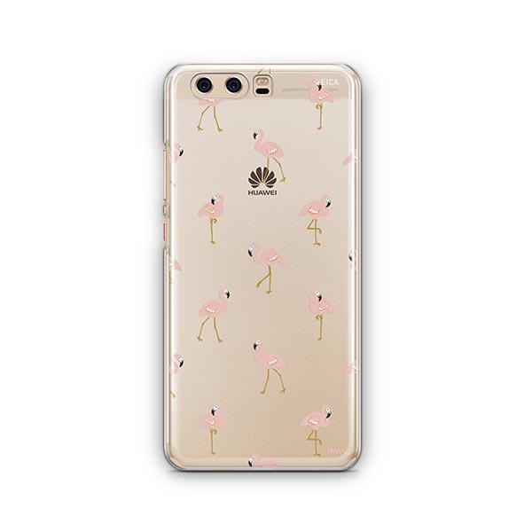 Chillin Flamingo - Huawei P10 Case Clear