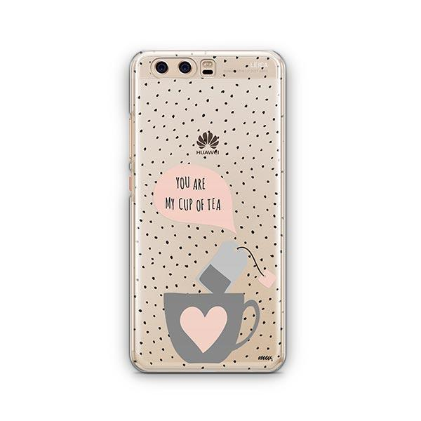 Cup of Tea Huawei P10 Case Clear