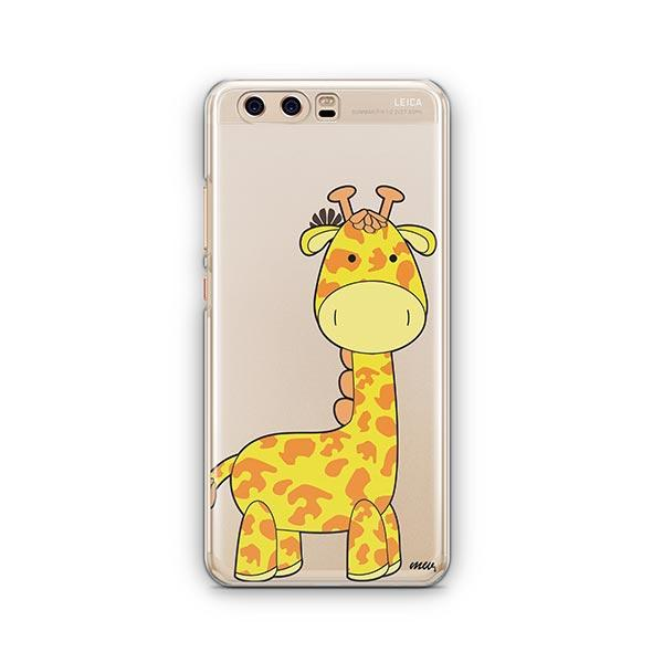 Cute Giraffe - Huawei P10 Case Clear