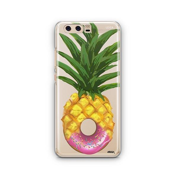 Donut Pineapple Huawei P10 Case Clear