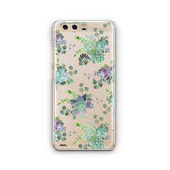 Echeveria Huawei P10 Case Clear