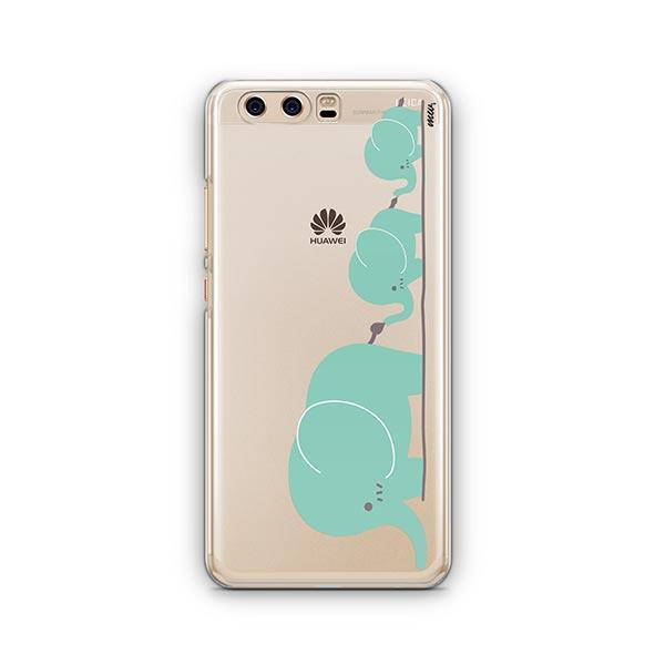 Elephant Family - Huawei P10 Case Clear