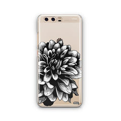 The Black Dahlia Huawei P10 Case Clear