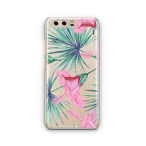 Exotic Hibuscus Huawei P10 Case Clear