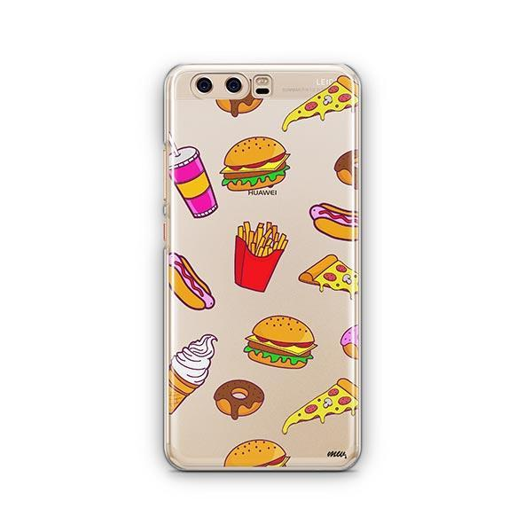 Fast Food Huawei P10 Case Clear