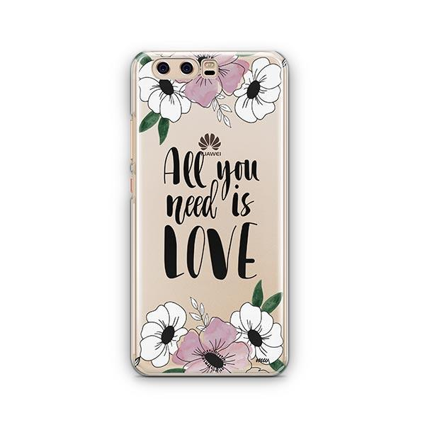All You Need is Love Huawei P10 Case Clear