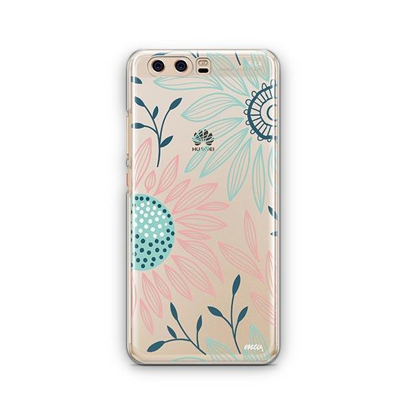 Floral Patch Huawei P10 Case Clear