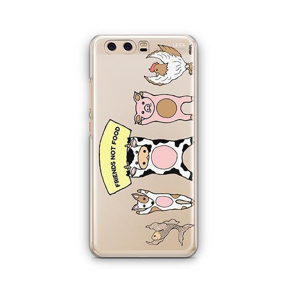 Friends Not Food - Huawei P10 Case Clear
