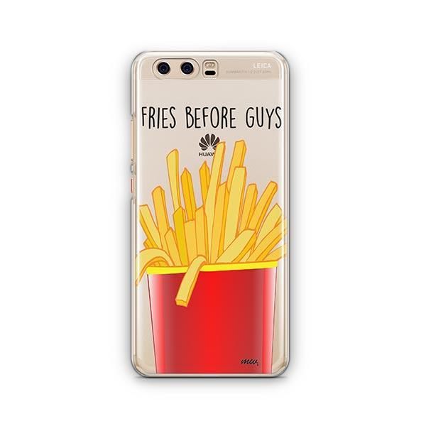 Fries Before Guys Huawei P10 Case Clear