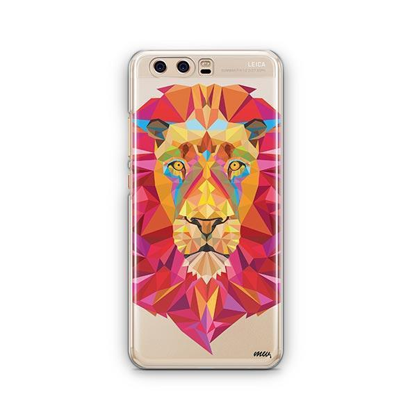 Geometric Lion - Huawei P10 Case Clear