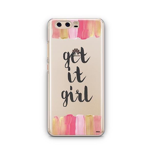 Get It Girl Huawei P10 Case Clear