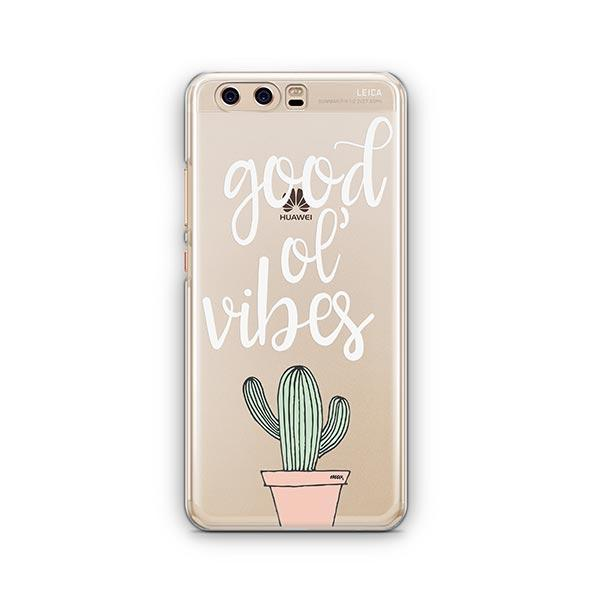 Good Ol Vibes Huawei P10 Case Clear